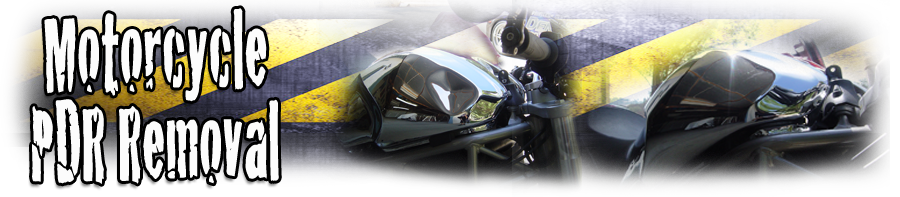 motorcycle paintless dent repair